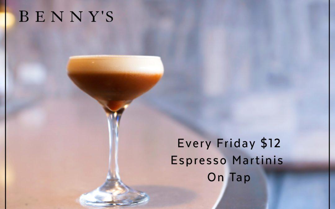 Espresso Martini Fridays
