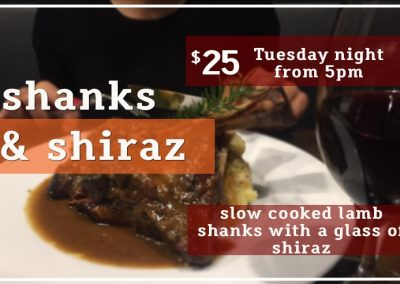 Shanks & Shiraz