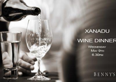 XANADU Wine Dinner