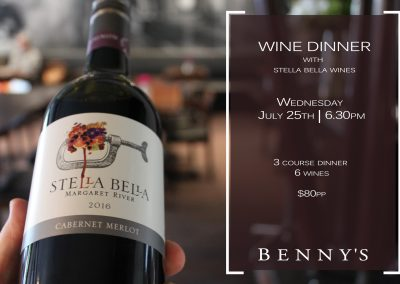 Stella Bella Wine Dinner