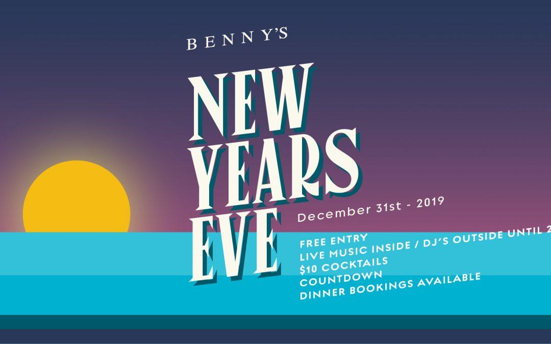 NYE at Benny's