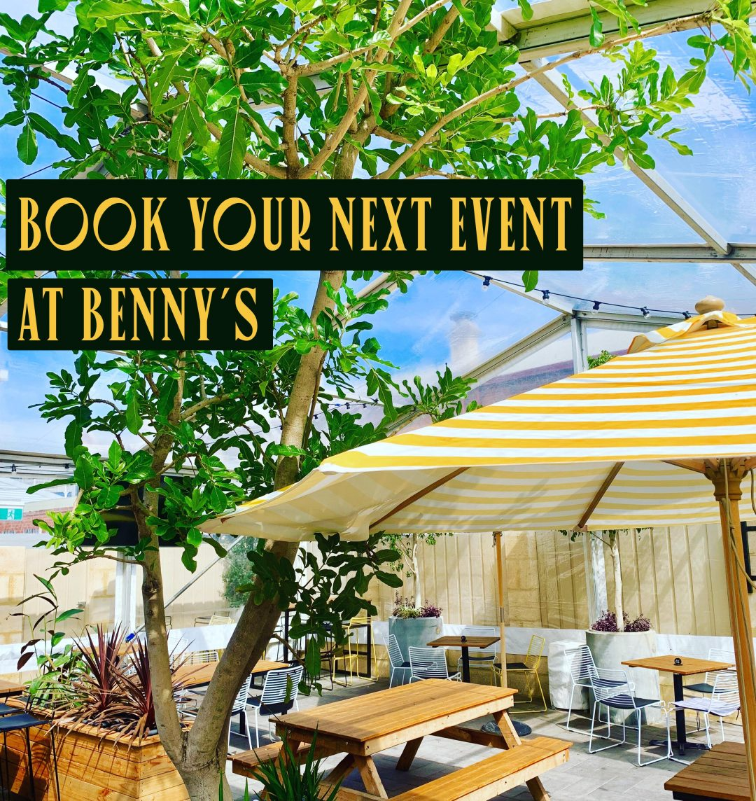 Book Your Next Event at Benny's