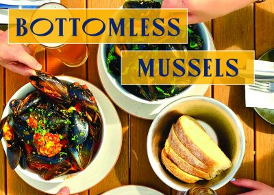 Bottomless Mussels